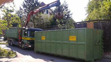 Dienstleistung Mulden + Container Service